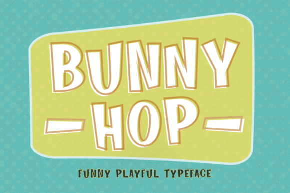 Print on Demand: Bunny Hop Display Font By Pasha Larin