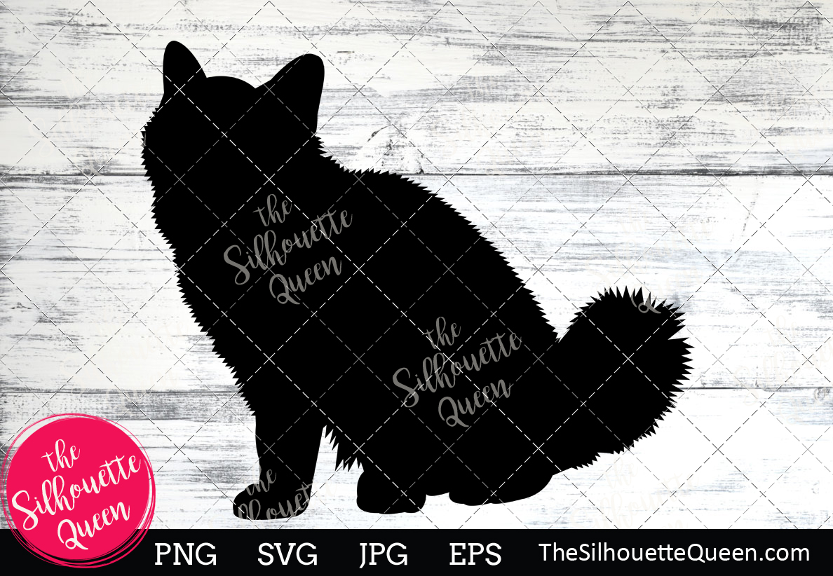 Download Free Burmese Cat Silhouette Graphic By Thesilhouettequeenshop for Cricut Explore, Silhouette and other cutting machines.