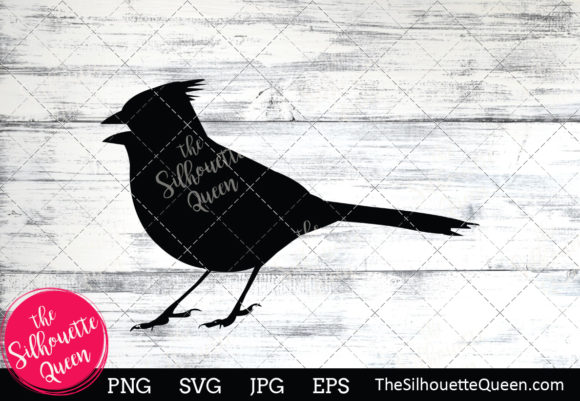 Download Free Cardinal Silhouette Graphic By Thesilhouettequeenshop Creative SVG Cut Files