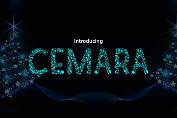 Print on Demand: Cemara Display Font By da_only_aan