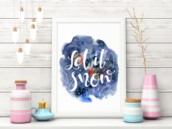 Download Free Christmas Watercolor Cards Vol 2 Graphic By Evgeniiasart for Cricut Explore, Silhouette and other cutting machines.