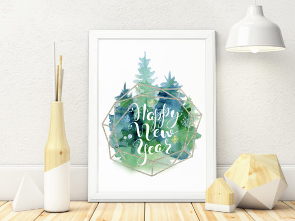 Christmas Watercolor Cards Vol.5 Graphic Illustrations By EvgeniiasArt - Image 3