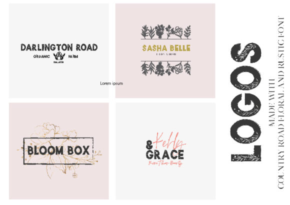 Print on Demand: Country Road Sans Serif Font By OkayAnnie Designs - Image 5