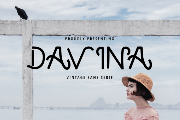 Print on Demand: Davina Sans Serif Font By nirmala.graphics