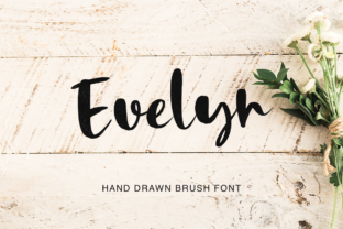 Evelyn Font By Pasha Larin