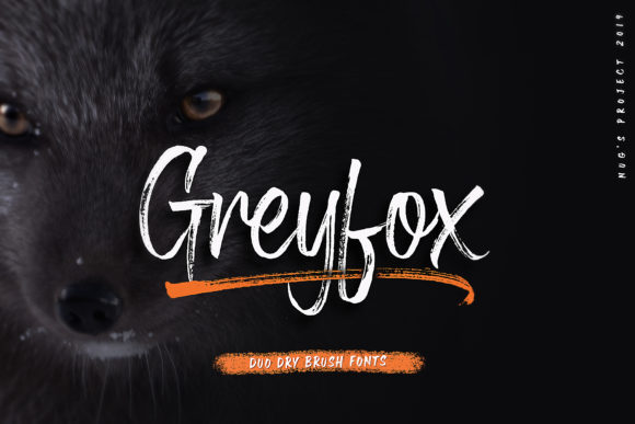Print on Demand: Greyfox Script & Handwritten Font By Andrie Nugrie