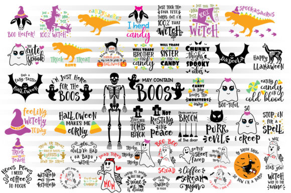 Download Free Halloween Bundle Graphic By Illustrator Guru Creative Fabrica SVG Cut Files