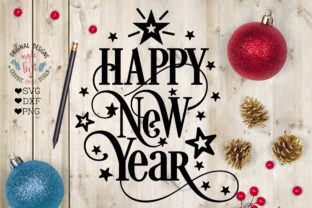 Download Free Happy New Year Graphic By Graphichousedesign Creative Fabrica SVG Cut Files