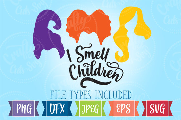 I Smell Children SVG Graphic Illustrations By Crafty Cuts SVG - Image 1