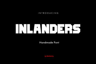 Print on Demand: Inlanders Sans Serif Font By Luxima Creative