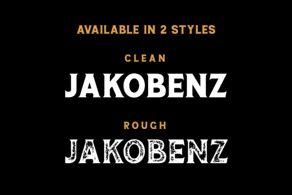 Print on Demand: Jakobenz Serif Font By Grezline Studio - Image 5