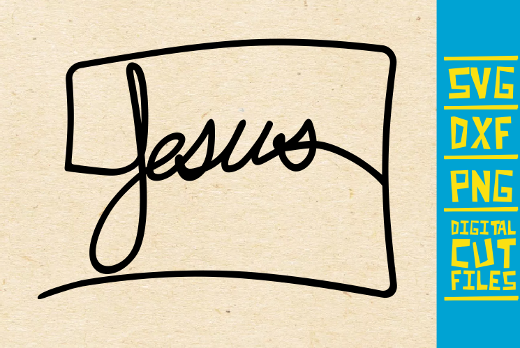 Download Free Jesus Christian Bible Graphic By Svgyeahyouknowme Creative Fabrica for Cricut Explore, Silhouette and other cutting machines.