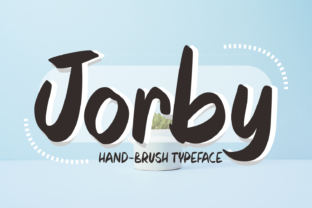 Jorby Font By Aysa - 7NTypes