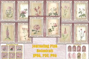 Journal Kit Pink Botanicals Free Clipart Graphic By The Paper Princess