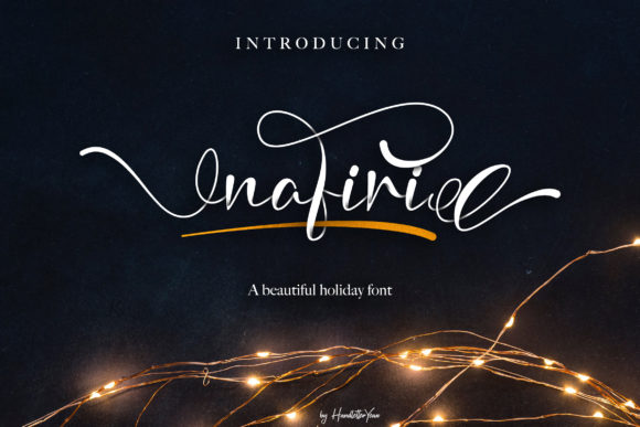 Print on Demand: Nafiri Script & Handwritten Font By yean.aguste