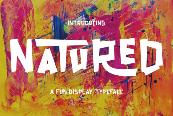 Print on Demand: Natured Display Font By MuSan