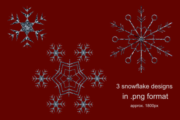 Download Free Snowflakes Graphic By Jata Arts Creative Fabrica for Cricut Explore, Silhouette and other cutting machines.