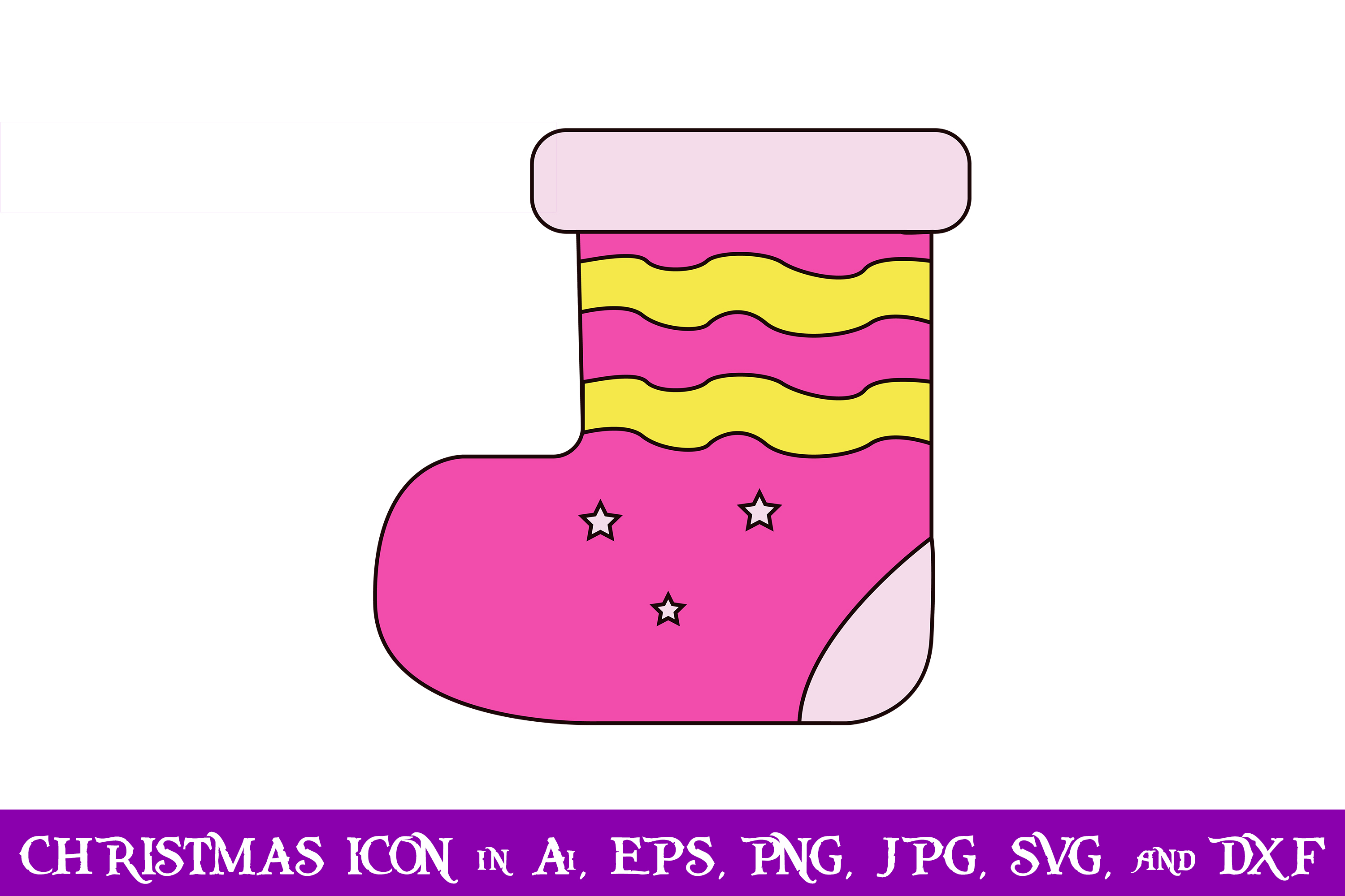 Download Free Socks Christmas Icon Graphic By Purplespoonpirates Creative SVG Cut Files