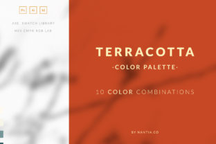 Terracotta Color Palette Collection Graphic By nantia