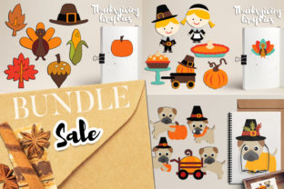 Thanksgiving Bundle Graphic By Revidevi