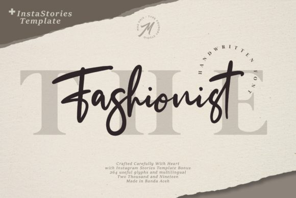 Print on Demand: The Fashionist Script & Handwritten Font By Mas Anis