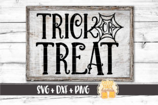 Trick or Treat Graphic By CheeseToastDigitals
