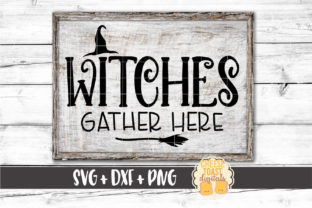 Witches Gather Here Graphic By CheeseToastDigitals