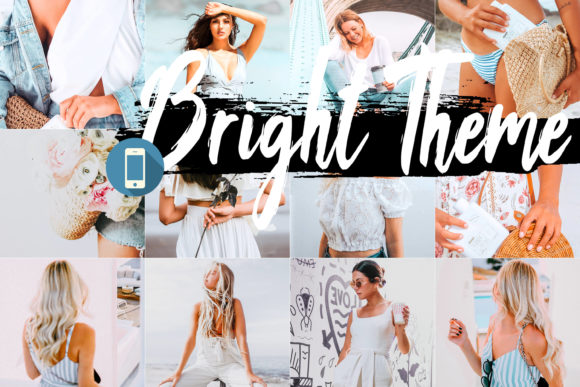 5 Bright Mobile Lightroom Presets Graphic By 3Motional