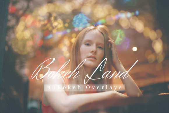 Print on Demand: 90 Bokeh Land Lightsleaks Overlays Graphic Photos By 3Motional