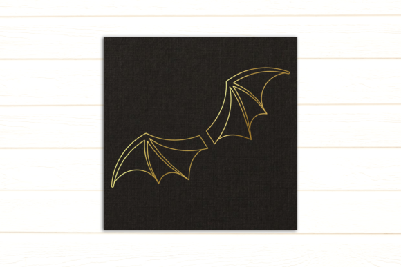 Bat Wings Graphic Crafts By DesignedByGeeks
