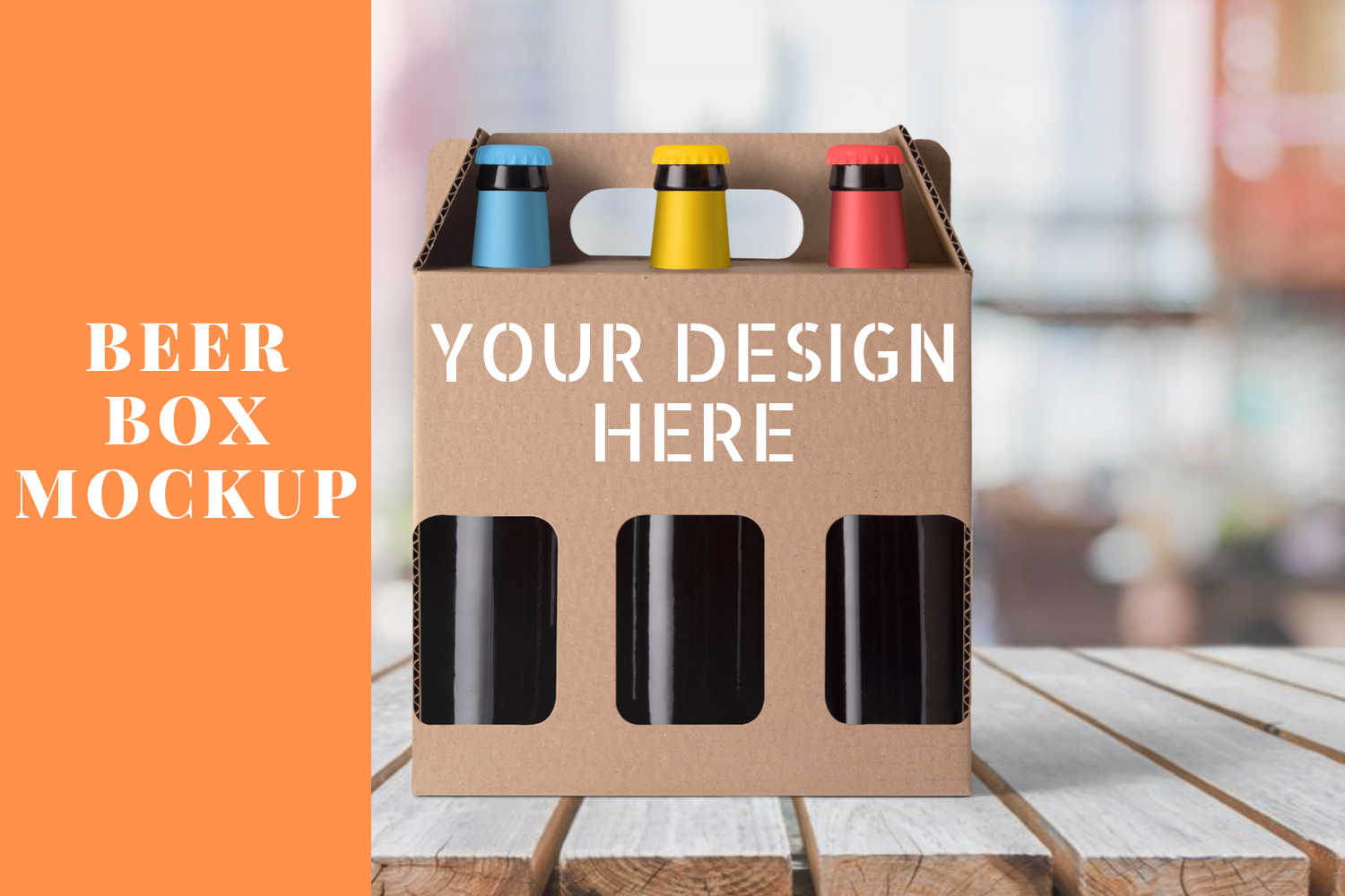 Download Free Beer Box Mockup Scene Graphic By Mockup Venue Creative Fabrica for Cricut Explore, Silhouette and other cutting machines.