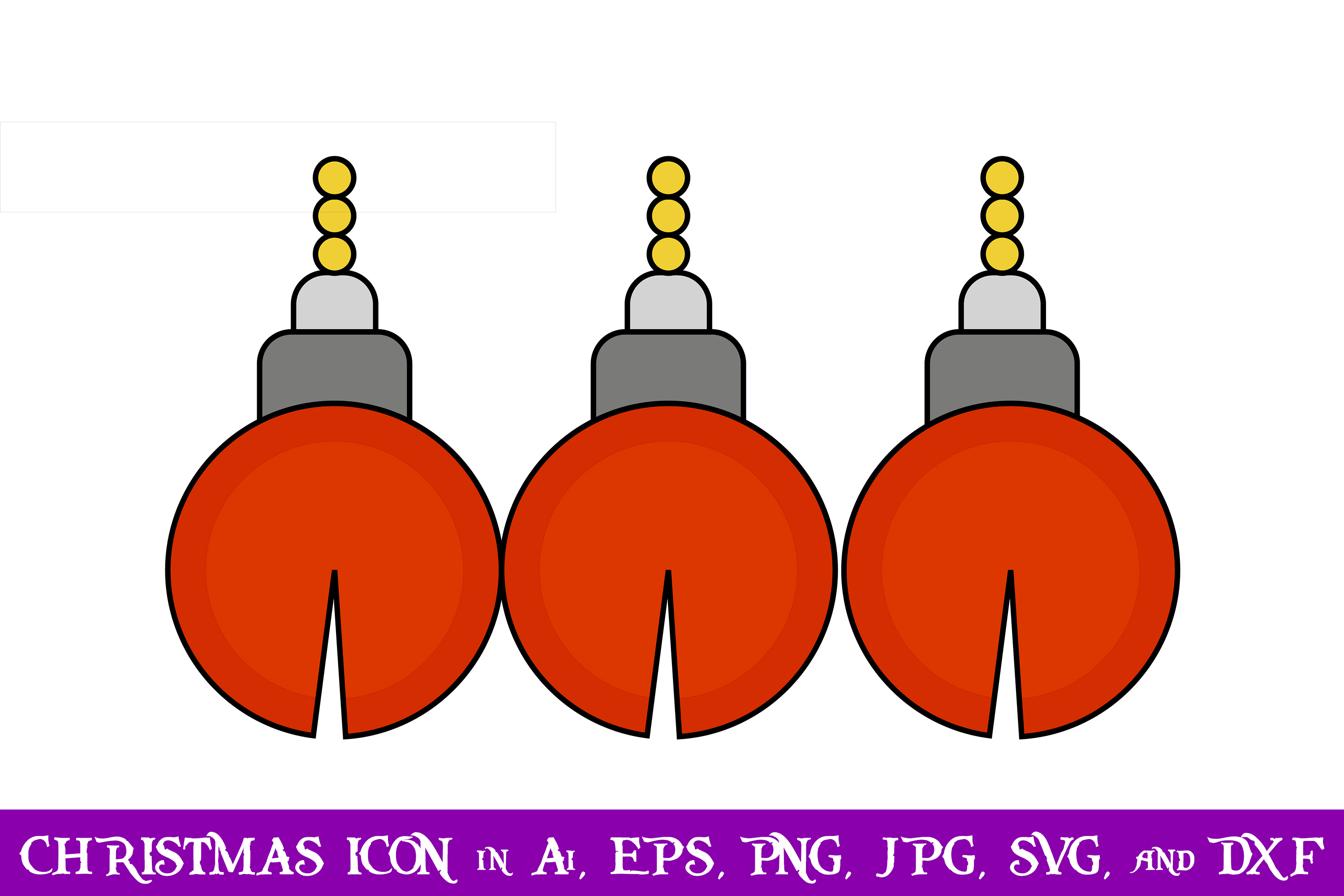 Download Free Bell Christmas Icon Graphic By Purplespoonpirates Creative Fabrica for Cricut Explore, Silhouette and other cutting machines.