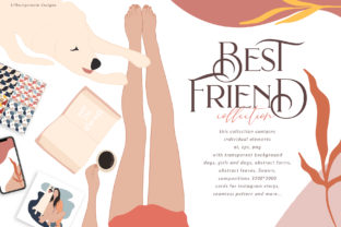 Best Friend Collection Graphic By BilberryCreate