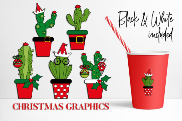 Print on Demand: Christmas Bundle Graphic Illustrations By DarraKadisha - Image 3