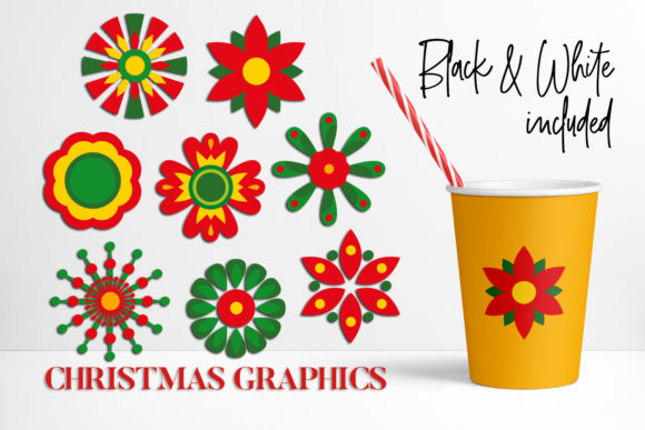 Print on Demand: Christmas Bundle Graphic Illustrations By DarraKadisha - Image 4