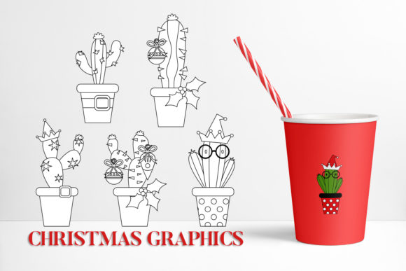 Print on Demand: Christmas Bundle Graphic Illustrations By DarraKadisha - Image 7