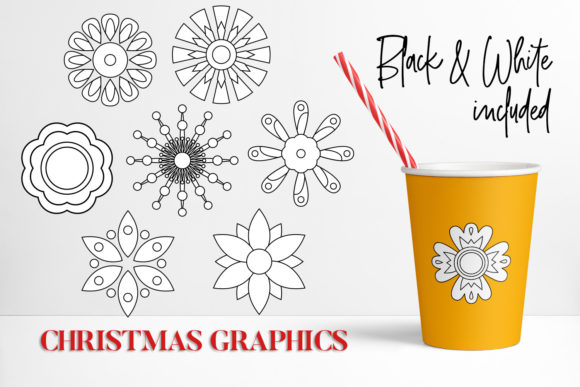 Print on Demand: Christmas Bundle Graphic Illustrations By DarraKadisha - Image 8