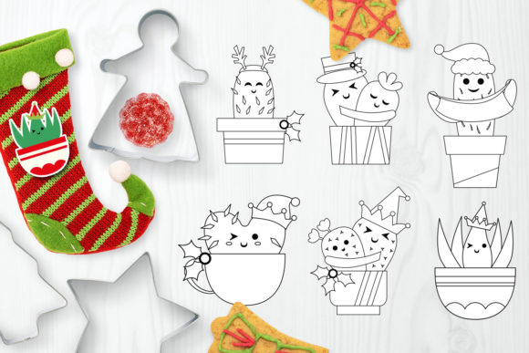 Print on Demand: Christmas Bundle Graphic Illustrations By DarraKadisha - Image 9