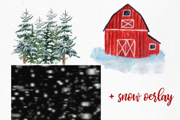 Christmas Clipart Graphic Illustrations By LeCoqDesign - Image 4