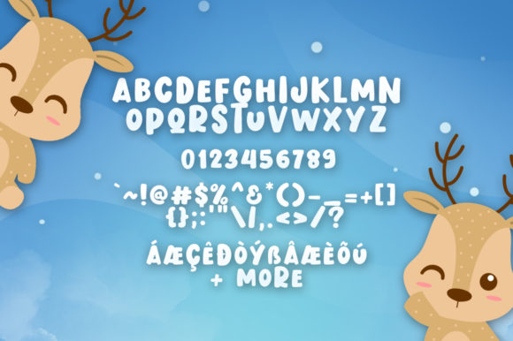 Dasher Deer Font By Khurasan Image 7