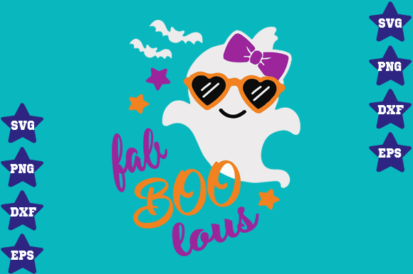 Download Free Fab Boo Lous Graphic By Awesomedesign Creative Fabrica for Cricut Explore, Silhouette and other cutting machines.