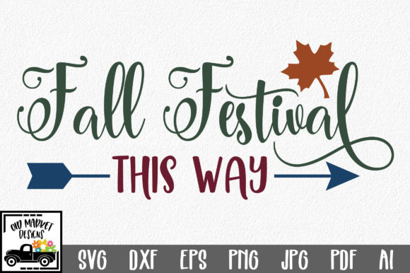 Fall Festival Graphic Crafts By oldmarketdesigns