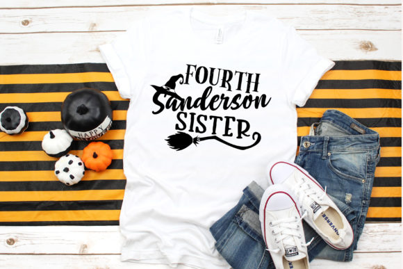 Download Free Fourth Sanderson Sister Clipart Graphic By Dana Tucker for Cricut Explore, Silhouette and other cutting machines.