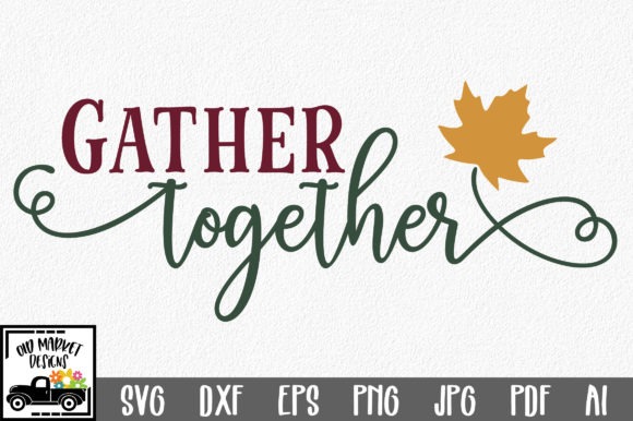 Gather Together Graphic Crafts By oldmarketdesigns