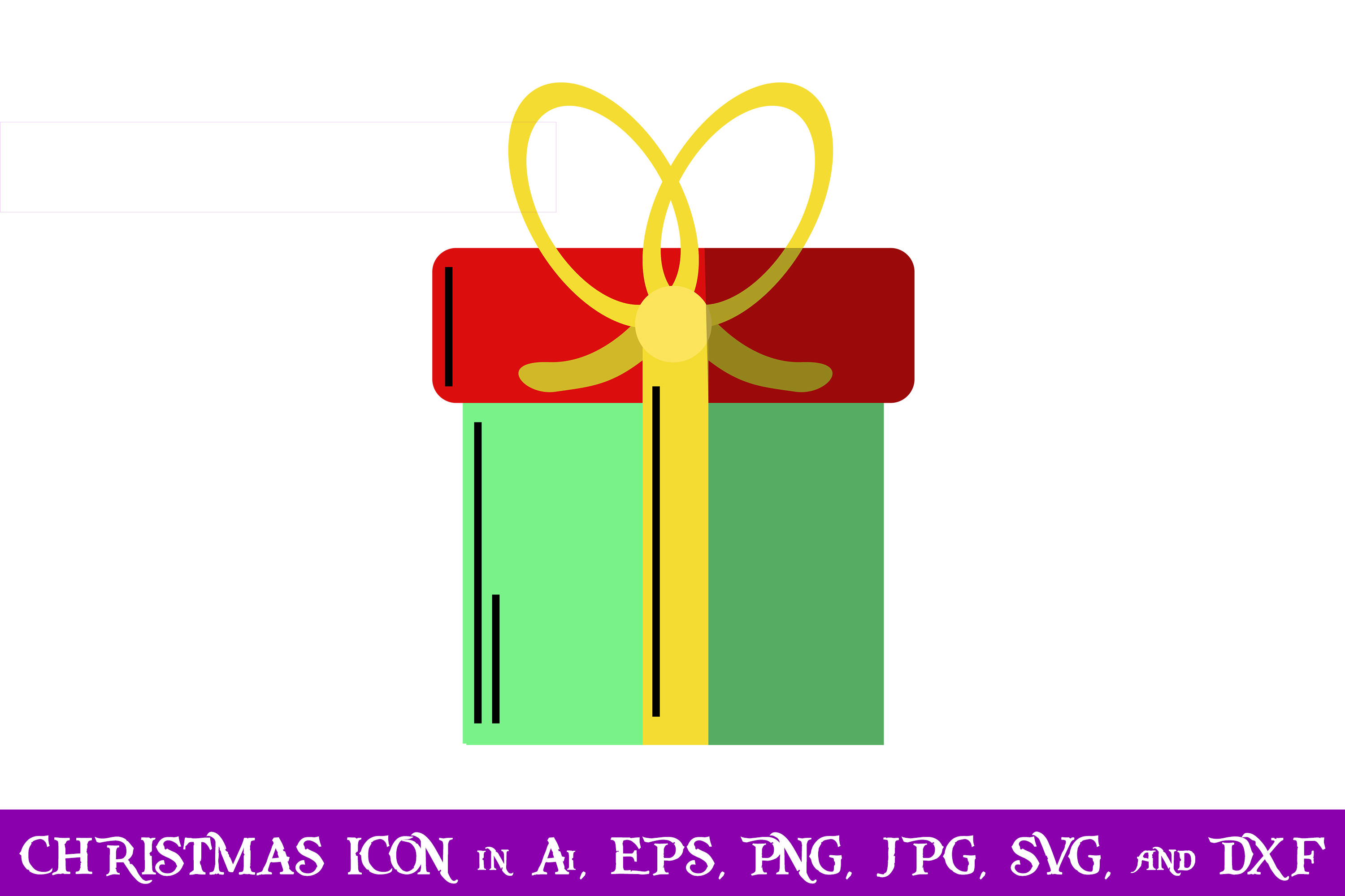 Gift Christmas Icon Graphic By Purplespoonpirates Creative Fabrica