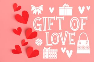 Gift of Love Font By Rifki (7ntypes)