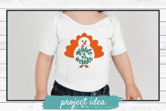 Download Free Gobble Til You Wobble Graphic By Funkyfrogcreativedesigns for Cricut Explore, Silhouette and other cutting machines.