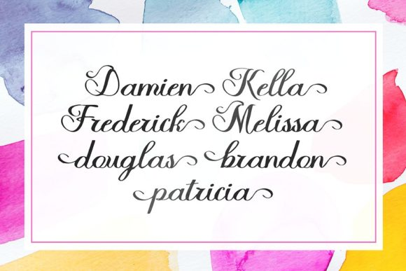 Halfesika Script Font By Solidtype Image 3