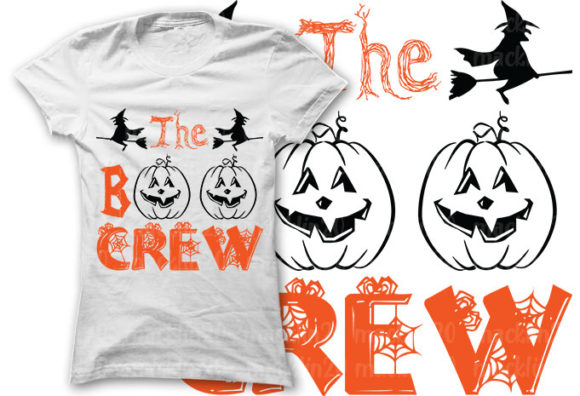 Download Free Halloween Bundles Cut Files Graphic By Creativeart Creative for Cricut Explore, Silhouette and other cutting machines.