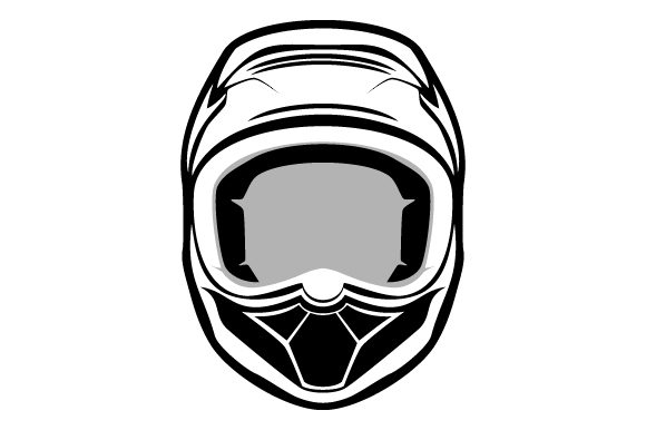 Download Free Helmet Glyphicon Logo Design Graphic By Graphicrun123 Creative Fabrica for Cricut Explore, Silhouette and other cutting machines.